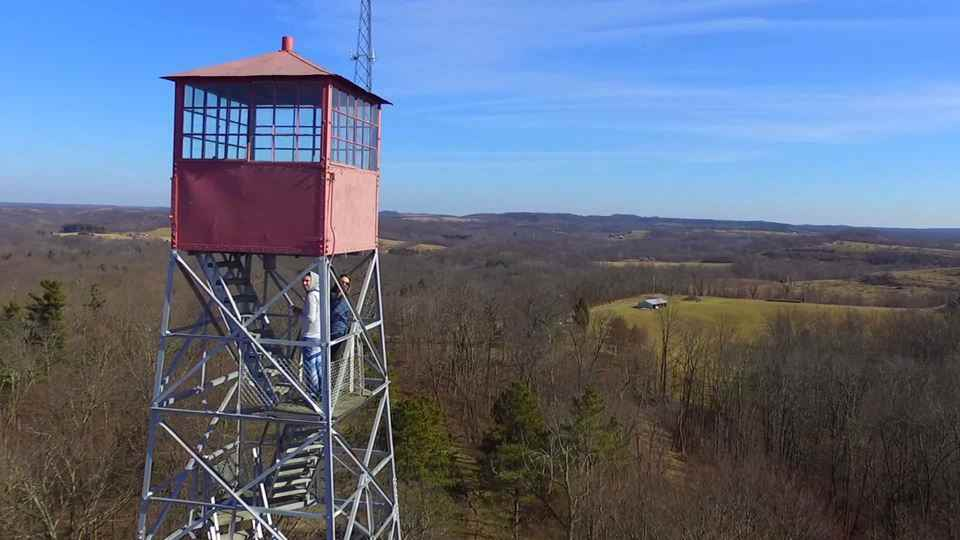 Blue Rock Fire Tower